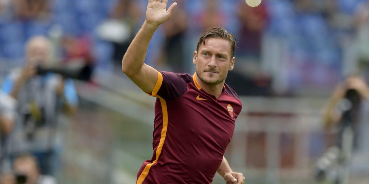I social rendono omaggio a Francesco Totti