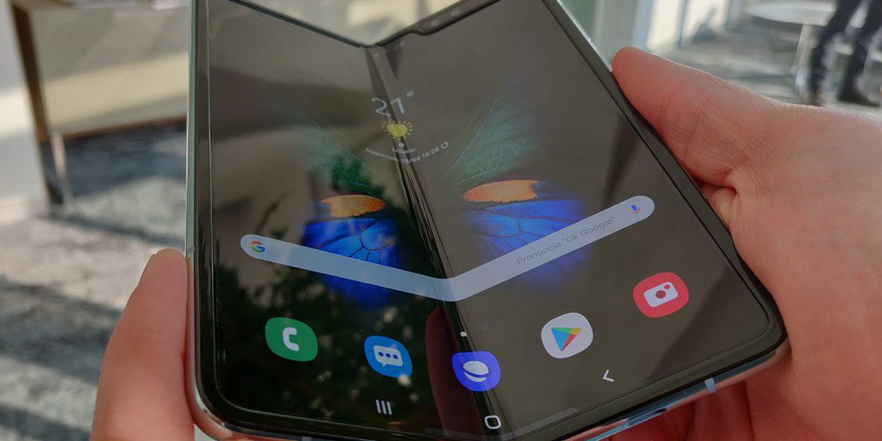 Galaxy Fold in paura dopo i problemi dello smartphone pieghevole