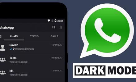 Niente modalità scura per Whatsapp
